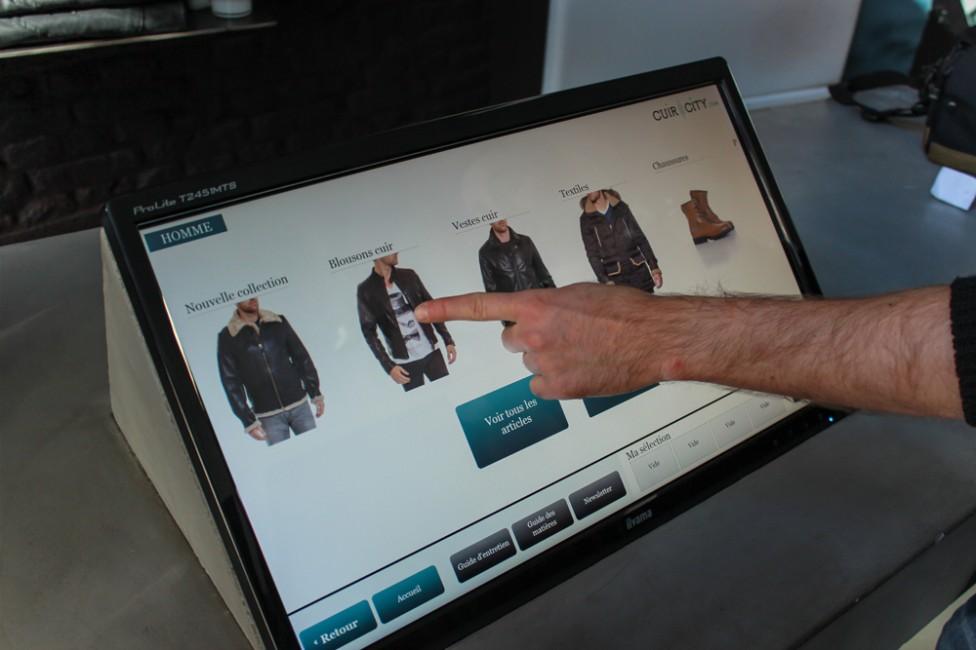 Connected store Paris