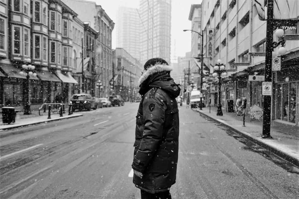 Parka Nobis neige