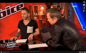 Serge Pariente sur The Voice