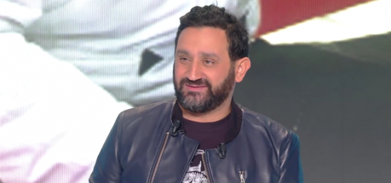 Cyril Hanouna en cuir