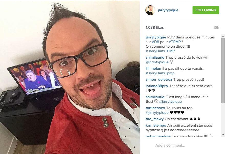 Jarry sur Instagram