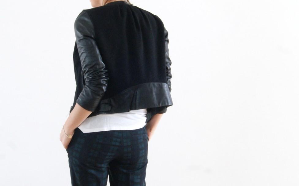 Aurélie Malau veste cuir