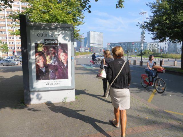 Publicité Cuir-City.com à Lille