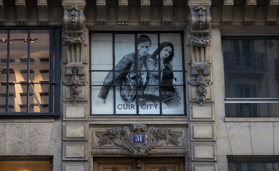 Nouvelle boutique cuir-city.com à Paris