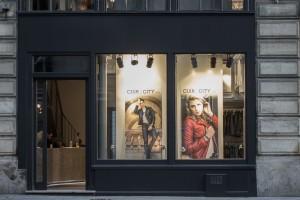 Ouverture du magasin cuir paris