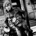 Cuir perfecto porté par motard