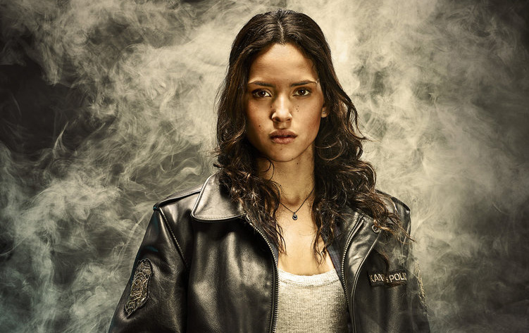 EMERALD CITY -- Season: 1 -- Pictured: Adria Arjona as Dorothy Gale -- (Photo by: Michael Muller/NBC)