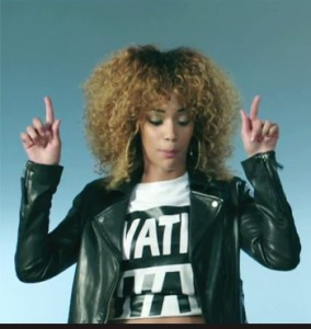 City girl porté dans le clip de black m