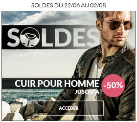 Soldes 2016 Cuir homme